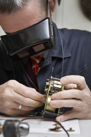 early fifties: Clock Repairman at Work LANG_EVOIMAGES