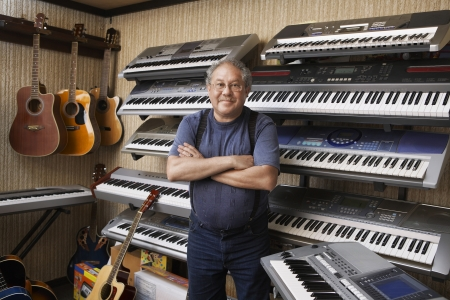 middle easterners: Music Store Owner