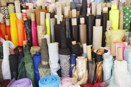 middle easterners: Bolts of Fabric