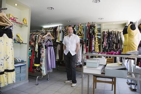 tienda de ropa: Propietario Shop en la tienda de ropa