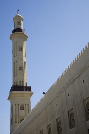 bur dubai: UAE Dubai The Grand Mosque and minaret in Bur Dubai LANG_EVOIMAGES