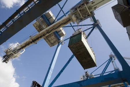 limassol: Limassol Cyprus dockside crane. LANG_EVOIMAGES