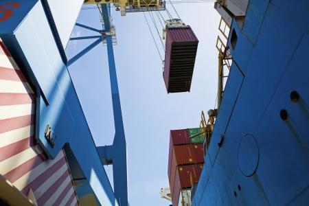 limassol: Limassol Cyprus dockside crane