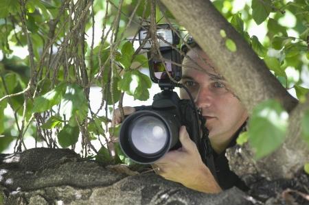 パパラッチ カメラマン