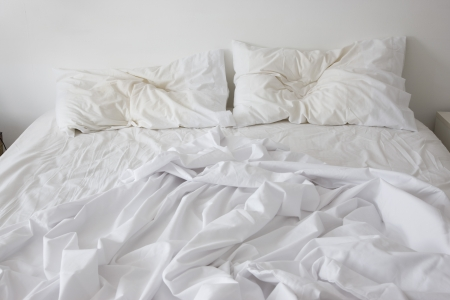 unmade: Unmade bed LANG_EVOIMAGES