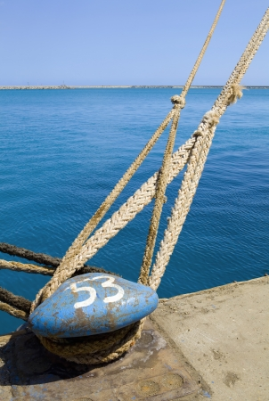 the mooring: Limassol Cyprus Ship mooring in docks LANG_EVOIMAGES