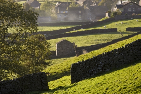 yorkshire dales: Village Yorkshire Dales Yorkshire Inglaterra LANG_EVOIMAGES