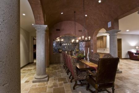 old fashioned: Elegant old fashioned dining room LANG_EVOIMAGES