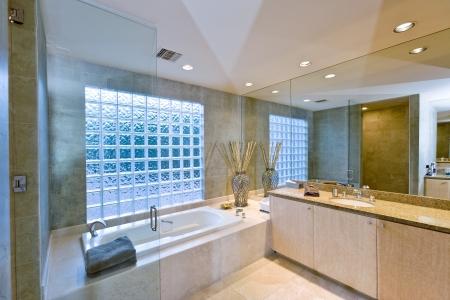 showcase interiors: Modern bathroom