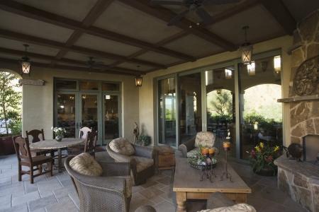 Palm Springs huis buitenkant buiten ruimte