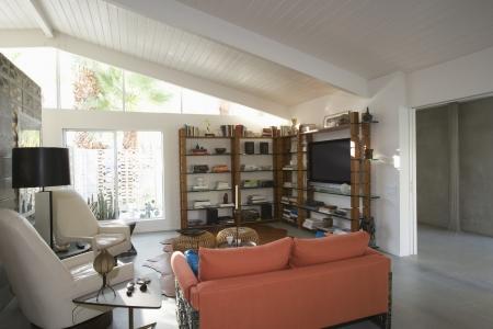 Modern living room home inter Stock Photo - 20739986