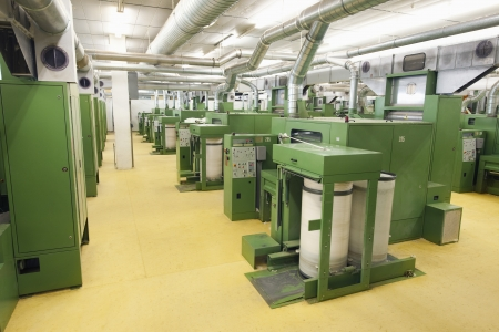 spinning factory: Spinning factory machinery
