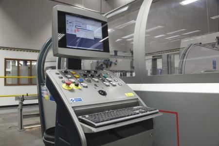 computerised: Control unit for a Salvernini CAM sheet metal folding machine.