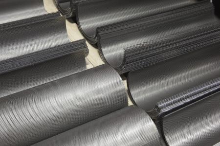 Rolled mild steel reflectors