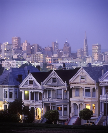 pitched roof: Pacific Heights San Francisco