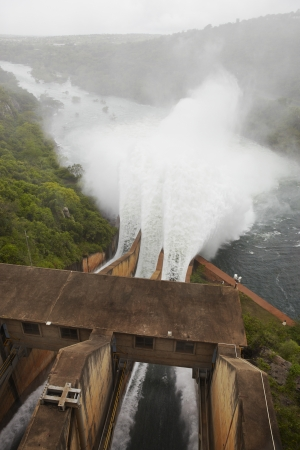 elevated view: Elevated view of Pongolapoort dam South Africa
