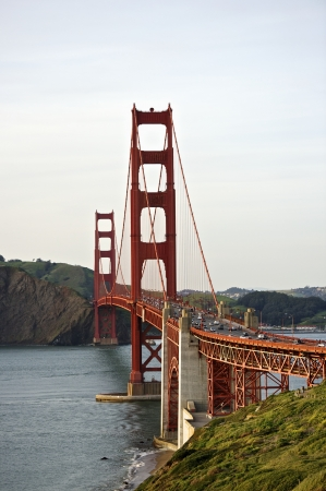 charles county: Golden Gate bridge with view to Marin County