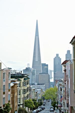 transamerica: Transamerica Pyramid San Francisco designed by William Pereira