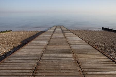 slipway: Slipway to ocean at Herne Bay in Kent LANG_EVOIMAGES