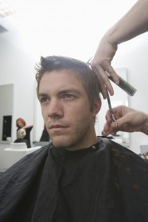 Men's hairdressing Stock Photo - 20741453