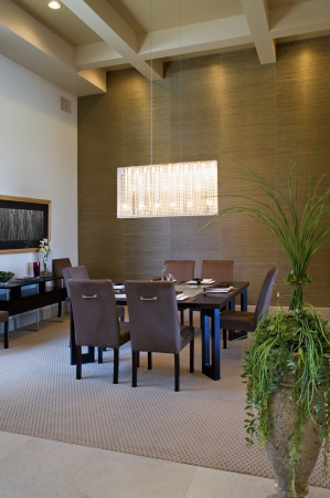 Dining room interior Stock Photo - 20741851