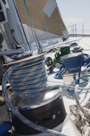winch: Winch on Yacht