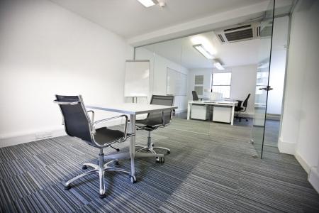 Weids uitzicht op kantoor interieur