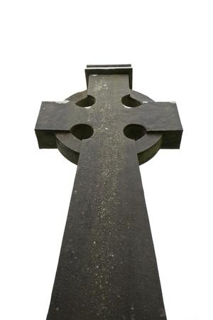 croce celtica: Croce celtica in Cattedrale Kilfenora, Irlanda
