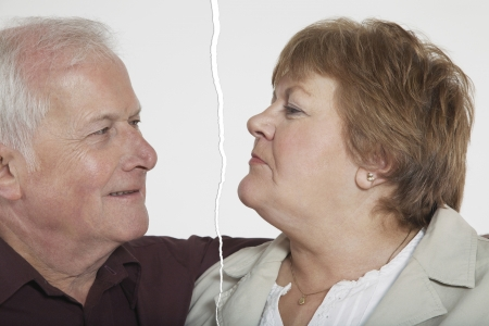conflicting: Senior couple ripped apart due to relationship difficulties