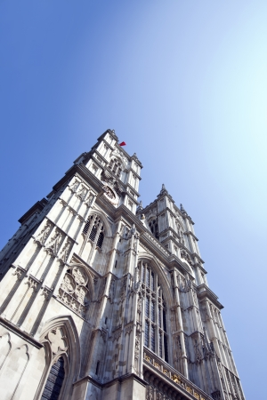 Westminster Abbey and Blue Sky Stock Photo - 23233709