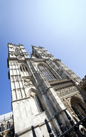 Westminster Abbey and Blue Sky Stock Photo - 23233710