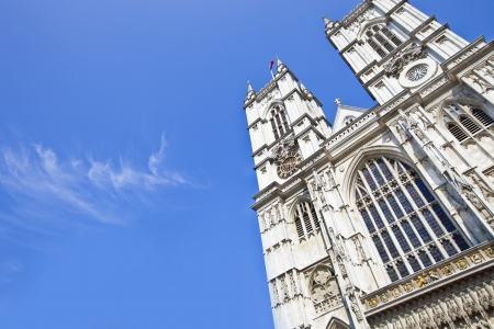 Westminster Abbey and Blue Sky Stock Photo - 23233711