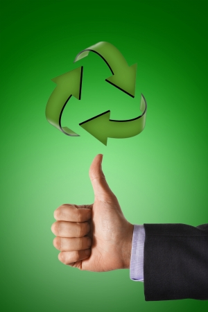 environmental conversation: Thumbs up for Recycling