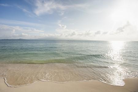 rin: Waters edge on beach; Koh Pha Ngan; Thailand