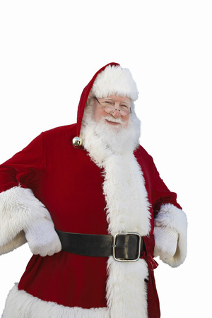 kringle: Santa Claus in Neighborhood With Palm Trees LANG_EVOIMAGES