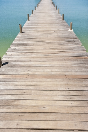 na: Na Pra Lan Pier on Koh Samui island; Thailand