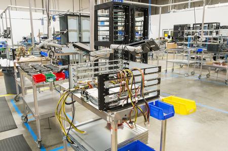 コンピューター関連製造業の内部