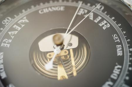 barometer: Close-up of boat barometer