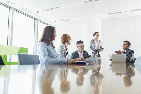 会議のビジネスマン