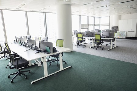furniture hardware: View of empty office