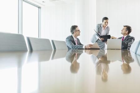 Zaken mensen in vergadering Stockfoto