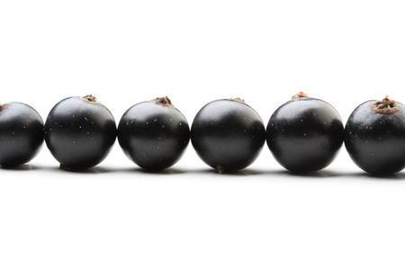 black currants: Black currants - close up