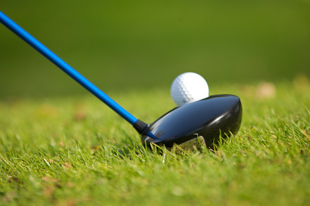 recreational pursuits: A golf club on a golf course
