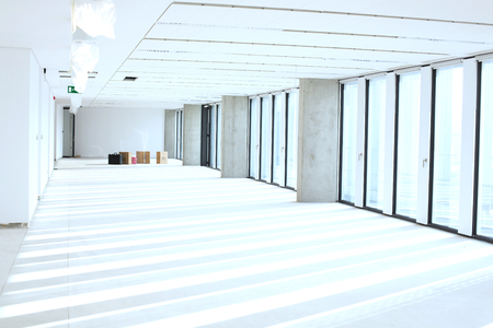mid distance: Interior of empty office