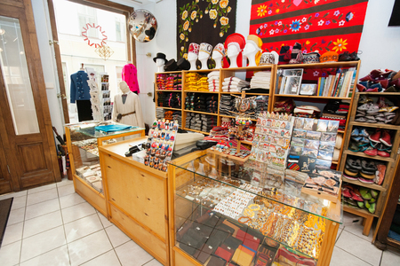 furniture store: Interior of gift store LANG_EVOIMAGES