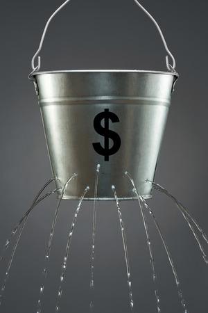 Leaky Dollar Bucket