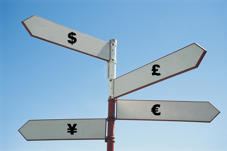 inform information: Currency sign post