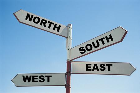 Signe nord-sud-est-ouest