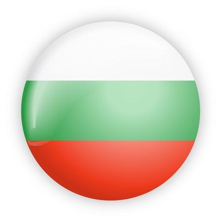 flag button: Bulgaria flag button