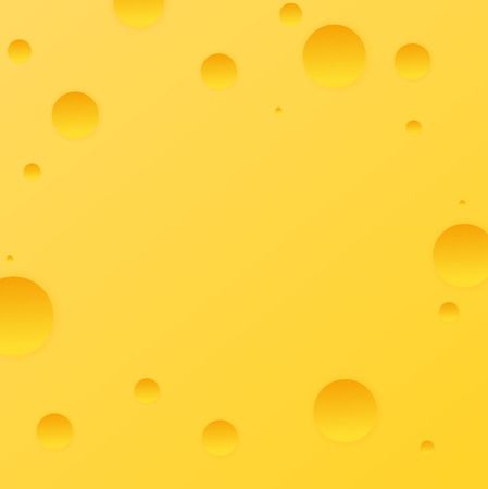 Present Card with cheese background